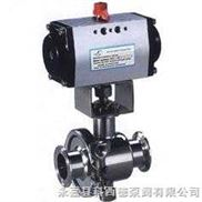 Q681氣動衛生球閥