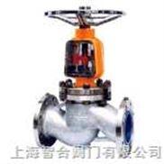 J41W 不銹鋼法蘭截止閥--上海智合閥門