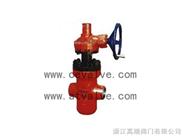 渦輪高壓帶導流型平板油田閘閥