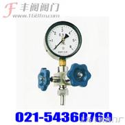 针型阀:- -J19H压力表针型阀