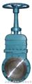 DMZ73暗杆刀闸阀  PZ43H 链轮单夹式刀型闸阀(梅花型)