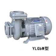 YLGbW100-20管道泵 四寸管径管道泵 5.5kw卧式管道泵 清水离心泵
