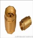 黃銅止回閥型號、結構、標準、廠家、價格