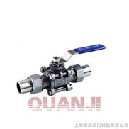 Q61F三片式活接对焊球阀