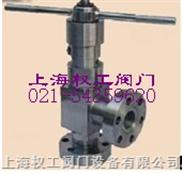 J44H油田專用角式截止閥 不銹鋼角式截止閥 不銹鋼法蘭截止閥