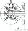 焦炉专用三通球阀Q44F-25KG-15~50mm