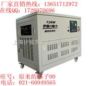 液化氣發電機12KW/大型燃氣發電機廠家價格