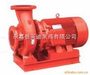 卧式管道消防泵,单级单吸卧式消防泵,XBD型卧式消防泵