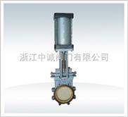 PZ673TC-气动陶瓷刀形闸阀,薄型闸阀