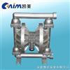 QBY铝合金气动隔膜泵 气动泵 隔膜泵 立式隔膜泵