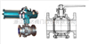 灰浆、灰水、煤渣等介质用特种金属硬密封球阀